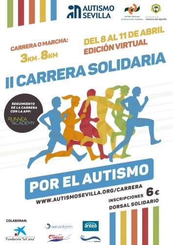 II Carrera Solidaria por el Autismo - Edición Virtual