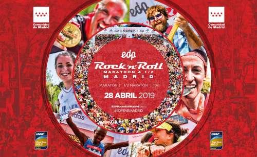 Carrera EDP Rock & Roll Madrid Medio Maratón