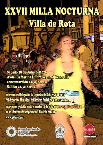 Carrera XXVII Milla Nocturna Villa de Rota