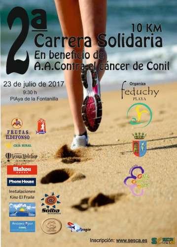 2ª Carrera Solidaria Contra el Cáncer Conil