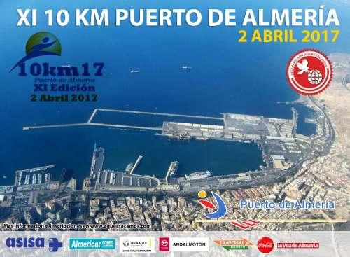 XI Edición 10 Km Puerto de Almeria