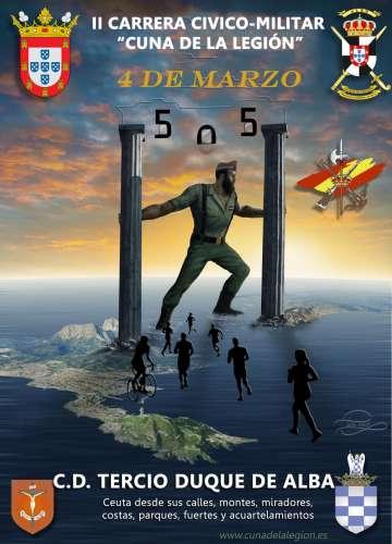 II Carrera Cívico-Militar Cuna de La Legión