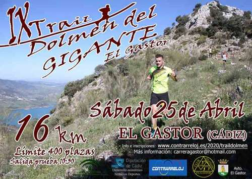 IX Trail Dolmen del Gigante