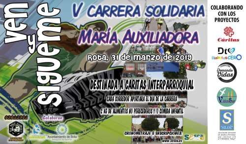 V Carrera Solidaria Mª Auxiliadora