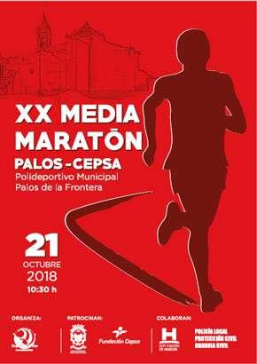 XX Media Maratón Palos de la Frontera - Cepsa