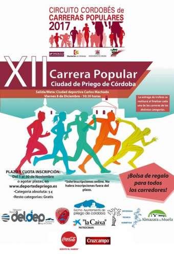 XII Carrera Popular Ciudad de Priego de Córdoba