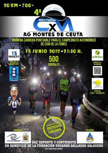 IV CxM Nocturna AG Montes de Ceuta