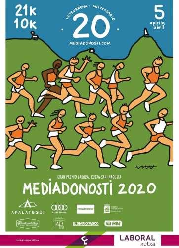 Carrera XX Media Maratón de San Sebastián