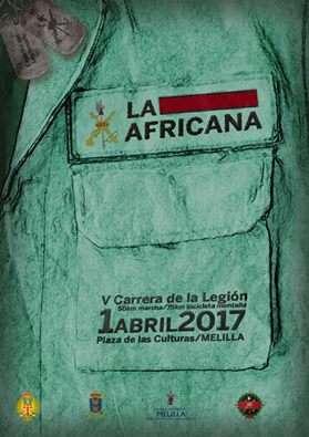 V Carrera Africana de la Legión de Melilla