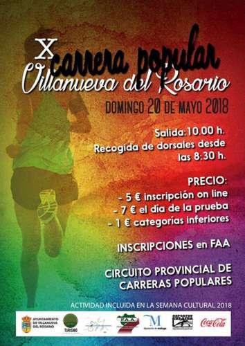 X Carrera Popular Villanueva del Rosario