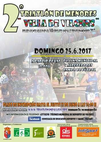 2º Triatlón de Menores Villa de Vilches