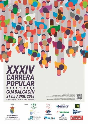 XXXIV Carrera Popular de Guadalcacín