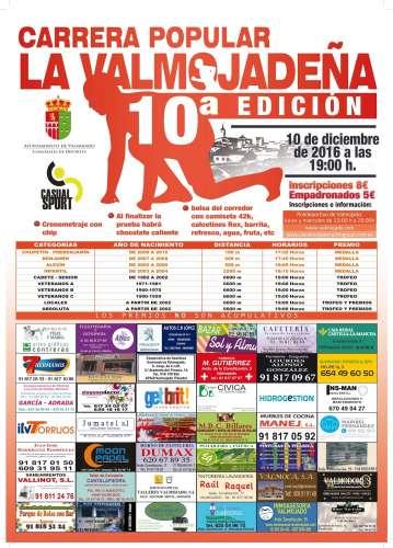 10ª Edición Carrera Popular La Valmojadeña