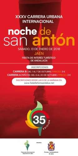 XXXV Carrera Urbana Internacional Noche de San Antón
