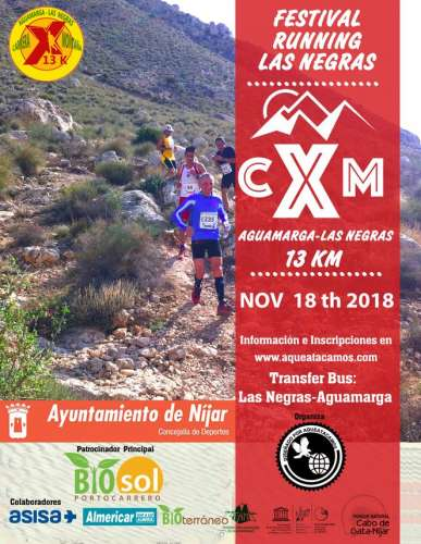 CxM Aguamarga-Las Negras Parque Natural Cabo de Gata