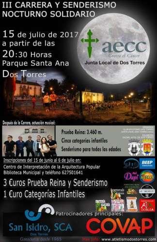 III Carrera y Senderismo Nocturno Solidario