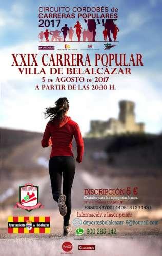 XXIX Carrera Popular Villa de Belalcazar