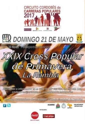 XXIX Cross Popular de Primavera La Rambla