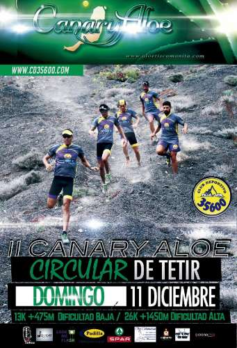 II Canaryaloe Trail Circular Vega de Tetir