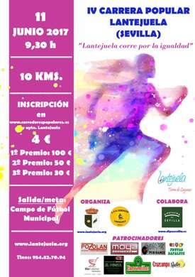 IV Carrera Popular Lantejuela
