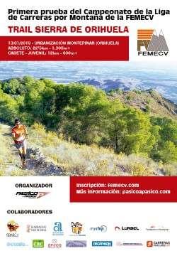 Trail Trail Sierra de Orihuela