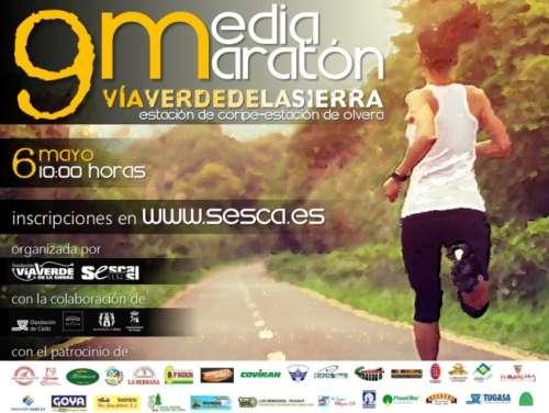 IX  Media Maratón Vía Verde de la Sierra
