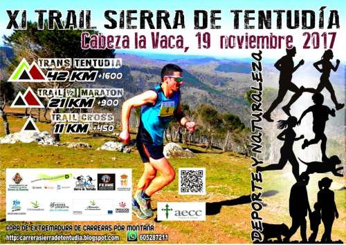 Carrera XI Trail Sierra de Tentudia Trail Media Maratón