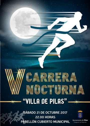 V Carrera Nocturna Villa de Pilas
