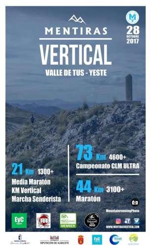 Mentiras Vertical Valle de Tus Media Maratón