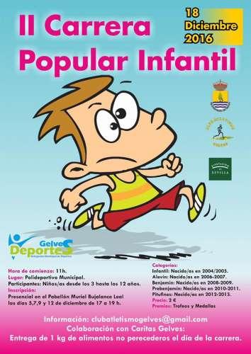 II Carrera Popular Infantil