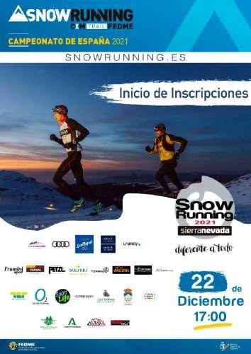 10 ª Snow Running Sierra Nevada 2021