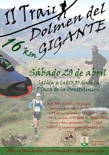 III Trail Dolmen del Gigante