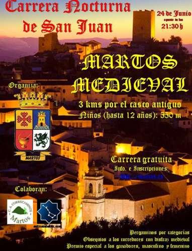 I Carrera Nocturna de San Juan Martos Mediaval