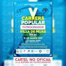 V Carrera Popular Villa de Mijas