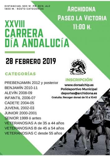 XXVIII Milla Urbana Día de Andalucía