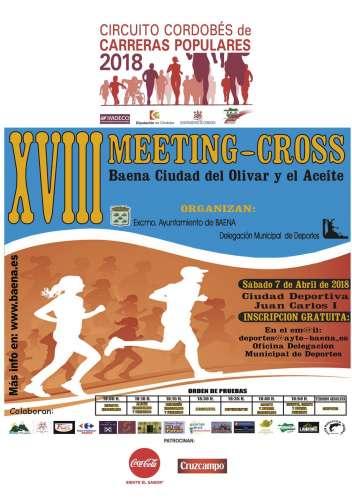 XVIII Meeting Cross de Baena
