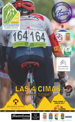 XIV Marcha Ciclodeportiva Juan Martínez Oliver Las 4 Cimas
