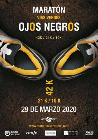 Maratón Vias Verdes Ojos Negros 2021