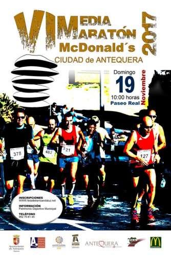VI Media Maratón McDonalds Ciudad de Antequera