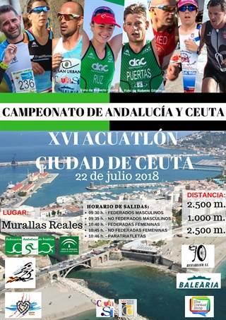XVI Acuatlón Ciudad De Ceuta