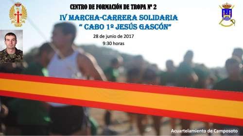 IV Carrera Solidaria Cabo 1º Jesús Gascón