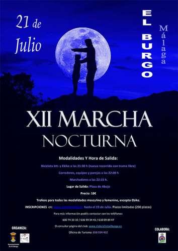 XII Marcha Nocturna El Burgo