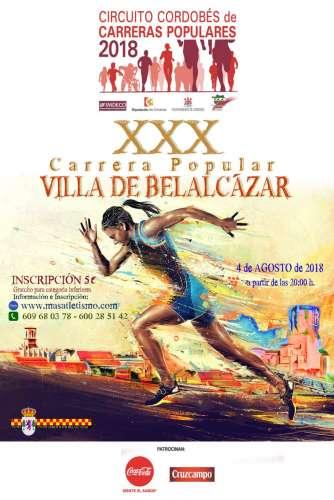 XXX Carrera Popular Villa de Belalcázar