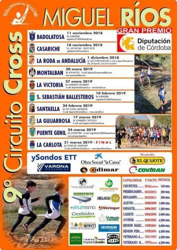IX Circuito Cross Escuela Atl. Miguel Ríos La Victoria