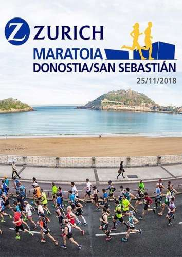 Carrera Zurich Maratón Donostia San Sebastián
