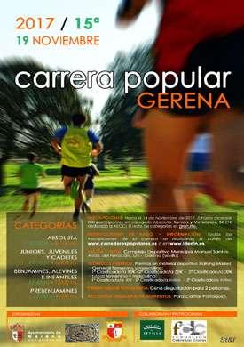 XV Carrera Popular Gerena