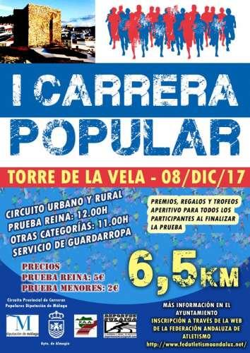 I Carrera Popular Almogía Torre de la Vela