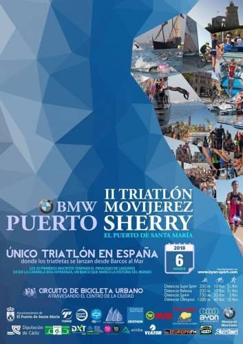 II Triatlón Olimpico Puerto Sherry