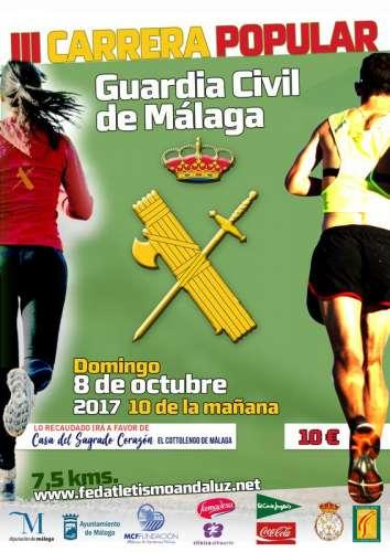 III Carrera Popular Guardia Civil de Málaga