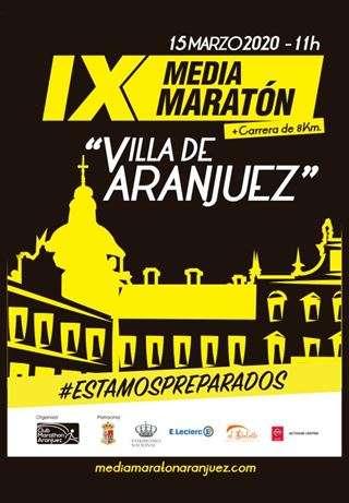 IX Media Maratón Villa de Aranjuez